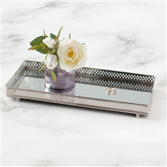 Silver Tray for Stowing Jewellery