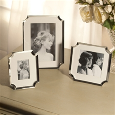 Set of Three Silver Picture Frames