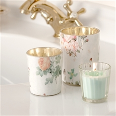 Lene Bjerre Annabelle Rose Tea light Holders