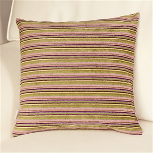 Stripe pattern cushion narrow au maison scatter cushions for Au maison cushion