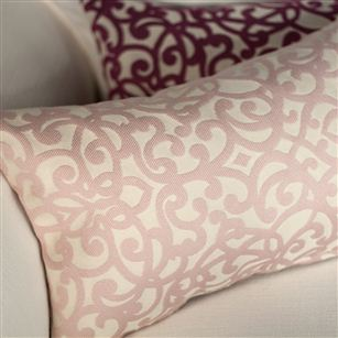 Trellis pattern cushion twist au maison soft furnishings for Au maison cushion