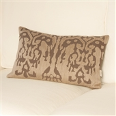 Ikat Cushion - Mink
