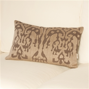 Bedroom | Scatter Cushions | Ikat Cushion - Mink