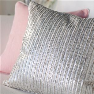 Silver cushion au maison scatter cushions for Au maison cushion