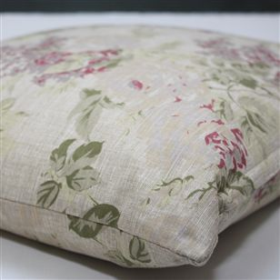 Floral cushion mille print au maison soft furnishings for Au maison cushion