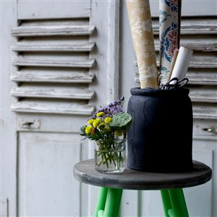 Bathroom | Storage & Hampers | Painted Stool From Reclaimed Wood