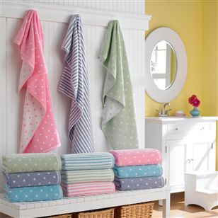 Gifts | For Children | Children's Bath Towels (Dots)