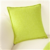Living Room | Scatter Cushions | Pistachio Green Wool Cushion Cover