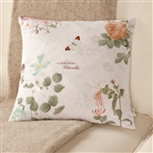Patterned Floral Cushion