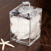 Clear Acrylic Storage Jar