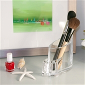 Acrylic Storage Container For Cosmetic Brushes