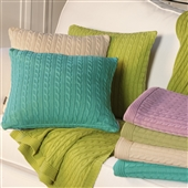 Classic Cable Knit Cushion Cover