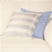 Striped Silk Cushion Covers