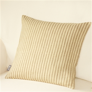 Bedroom | Scatter Cushions | Medium Linen Striped Cushion Cover