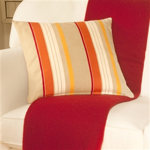 Bedroom | Scatter Cushions | Large Striped Cushion