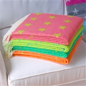 Colourful Star Blanket Throw