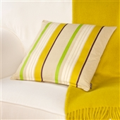 Large Striped Cushion
