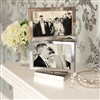 Bedroom | Picture Frames | Rotating Silver Multi-Aperture Picture Frame