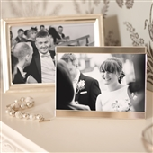 A Small Silver Photo Frame