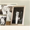 Bedroom | Picture Frames | MEDIUM Beaded Silver Picture Frame