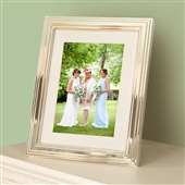 LARGE Classic Silver Picture Frame