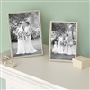 Bedroom | Picture Frames | LARGE Rope Edge Silver Plated Picture Frame