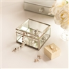 Bedroom | Table Accessories | Set of Two Clear Glass Storage Boxes
