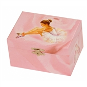 Ballerina Musical Jewelry Box For Little Girls