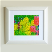 Framed Summer Garden Print Part 1