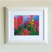 Framed Summer Garden Print Part 2
