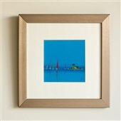 Framed Blue Sailing Print Part 1