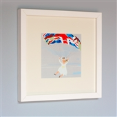 Framed Print Of Parachuting Queen