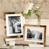 SMALL Polished Silver Picture Frame