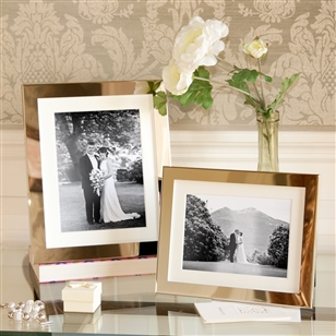 Bedroom | Picture Frames | SMALL Polished Silver Picture Frame