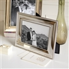 Bedroom | Picture Frames | SMALL Silver Photo Frame With Rope Edge