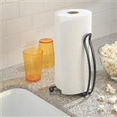 Black Kitchen Roll Holder