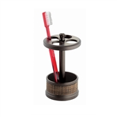Rattan Toothbrush Holder
