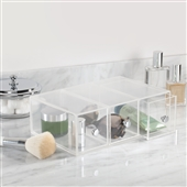 Acrylic Drawers for Makeup Storage - Flippable