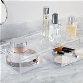Acrylic Drawers for Makeup Storage - Two Wide