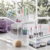 LARGE Stacking Acrylic Makeup Organiser