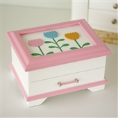 Tulip Wood Jewellery Box